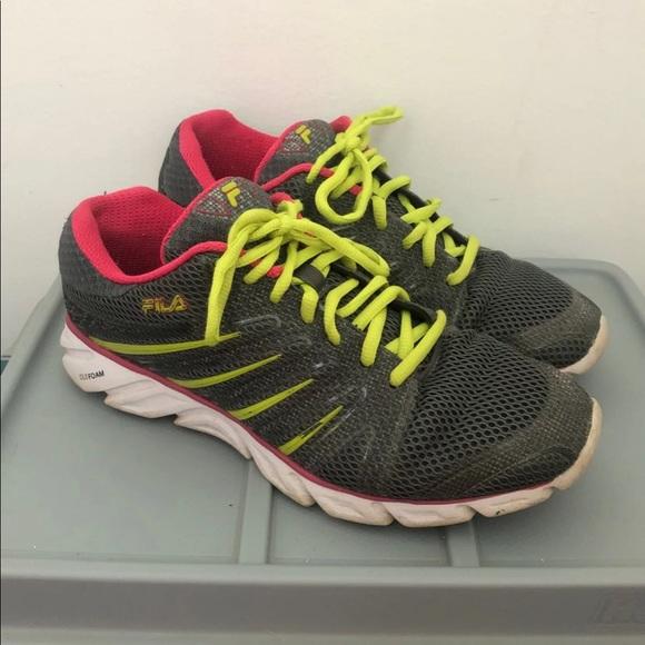 Like New Fila DLS Foam Running Shoes